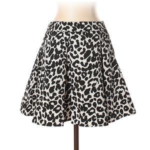 Collective Concepts Animal Print Mini Skirt